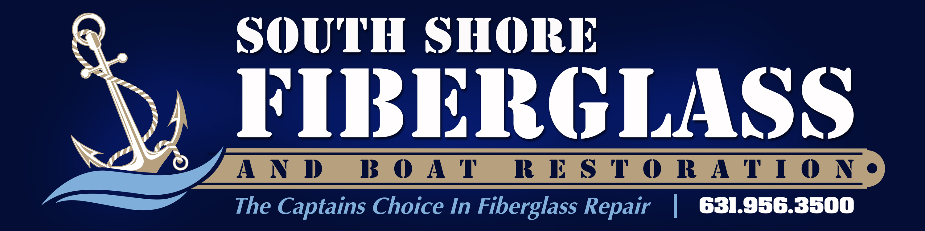 South Shore Fiberglass logo